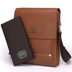 4324f47aac76 2015 Latest arrival Bilayer Leather Messenger Bag Cheap Men s shoulder bag  Specials small leisure satchel Business