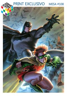 Batman and Robin by Felipe Massafera *