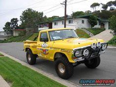 Ford Baja 1000 Vintage Race Truck