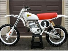 1976- Honda CR125M Mugen Package Racer