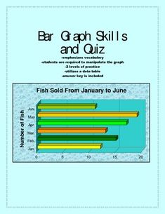 Want to review bar graph skills and vocabulary? This set includes two levels of bar graph activities (with and without gridlines to assist students).  A lack of key words in the questions ensures that students are able to determine the operation needed from reading carefully.