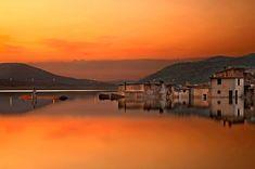 'Twilight of a sinking village' by Hercules Milas Crete Island, Heraklion, Beautiful Islands, Hercules, Long Hoodie, Homeland, Travel Bags, Twilight, Greece