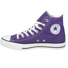 Converse Womens Shoes All Star High Top Purple.  I so need a pair of Chucks.