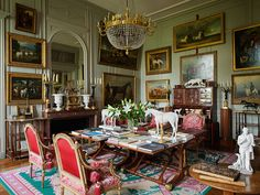 Speisesaal in Schloss Wörlitz | Archi | Pinterest | Dekoration ...