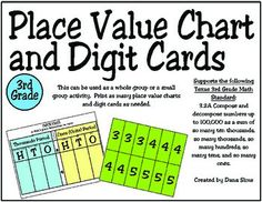 Rd Grade Place Value Bingo To Hundred Thousands Teks A