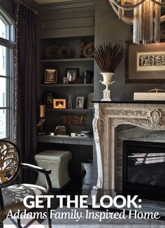 Embody the modern Morticia Addams and design your own spooky home! Visit BuildersSurplus.us for Remodeling products in the Louisville, Kentucky and Cincinnati, Ohio areas!
