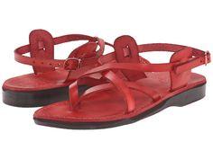 Jerusalem Sandals Tamar Buckle - Womens Red - Zappos.com Free Shipping BOTH Ways