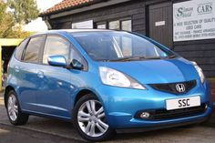 Honda Jazz 1.4 i-VTEC EX 5dr Hatchback Petrol Bright Blue Metallic http://www.simonshieldcars.co.uk/used/honda/jazz/14-i-vtec-ex-5dr/ipswich/suffolk/16050526  #honda #usedcars #blue