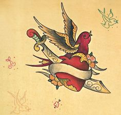 Google Image Result for http://www.ideatattoo.com/blog/wp-content/uploads/2011/08/heart-with-swellow-old-school-tattoo-670x640.jpg