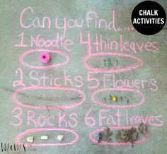 Chalk Activities - http://momsoftulsa.com/chalk-activities/