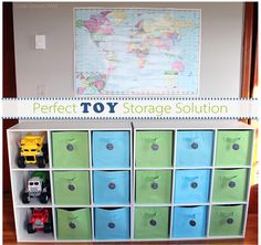 Best Toy Storage Solutions! How to get your kid's toys organized and stay that way!   Love Grows Wild  #organize #toy #storage