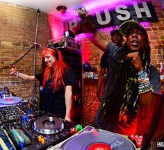 Reid Speed throwing down w the RAWWW crew during #SXSW  @reidspeed  #photooftheday #instadaily #austin #texas #atx #drumandbass #showcase #party #pioneer #mixer #dj #producer #edm #reidspeed #plushatx #downtown #6thstreet #nightclub #nikon #fisheye #512 #junglist #4eleven by 4eleven