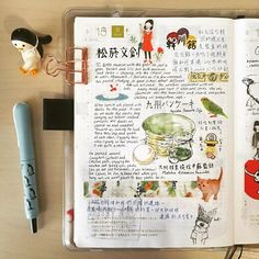 Green tea fluffy hot cakes from Japan.... #doodle #drawing #diary #daily…