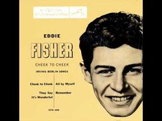 ▶ EDDIE FISHER - I'M WALKING BEHIND YOU.wmv - YouTube