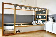 Transformer le lit IKEA Kura : 15 idées - IKEA Hacks - Blog déco