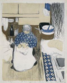 BONNARD Pierre, 1867-1947 (France) & VERLAINE Paul, 1844-1896 (France) Title : PARALLÈLEMENT Date : 1900