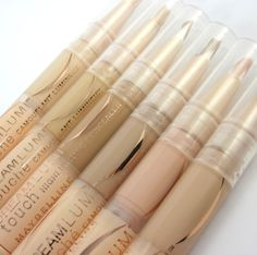 BEST highlight+concealer!! Affordable and efficient!!  Maybelline Dream Lumi Touch Highlighting Concealer.