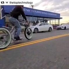 Kombi Trailer, Velo Design, Bike Cart, Tricycle Bike, New Technology Gadgets, Futuristic Motorcycle, Bike Parking, Hot Bikes, Cool Inventions