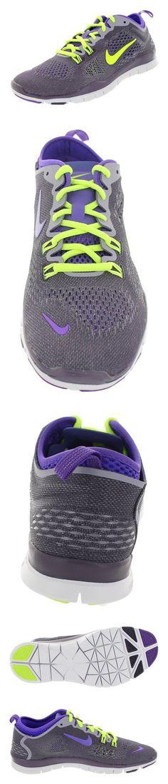 $100 - Nike Women's Free 5.0 Tr Fit 4 Drk Rsn/Vlt/Hypr Grp/Prpl Stl Training Shoe 7.5 Women US #shoes #nike #2006