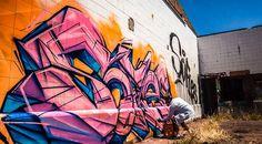 Time-Lapse Video Captures Graffiti Artist Put Up Over Twenty Pieces