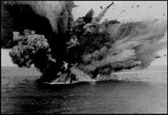 HMS Barham explodes November 1941