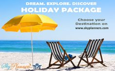 Explore your dream destination  Book your package from www.skyplanners.com