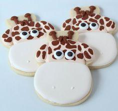 love these little giraffe cookies!