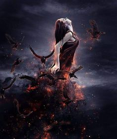 Black Magic Woman by desperadofromhell on DeviantArt Gothic Fantasy Art, Beautiful Fantasy Art, Fantasy Girl, Body Art Photography, Pagan Art, Black Magic Woman, Female Pictures, Digital Art Girl, Angels And Demons