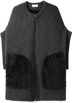 Цумори Чисато | Мех Трикотажный Куртка | Ла Garçonne