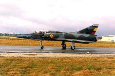 Mirage M-5. Fuerza Aerea Colombiana. 1972 - 2010