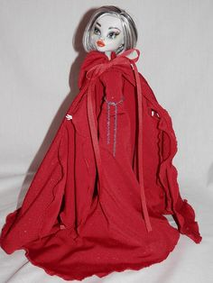 Red Shimmer Cape and Medieval Gown Designed for by iddybiddyspider, $25.00