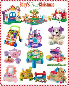 Seven Graces: Best Gifts for Baby's First Christmas