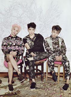 (from left) XIA JUNSU - JAEJOONG - YOOCHUN | JYJ x TVXQ!
