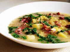 Kapustová polévka | Vaření s Tomem