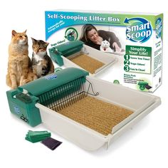 OurPets SmartScoop Intelligent Litter Box