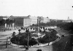 Plaza de Colón en 19