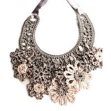 Image result for crochet  jewelry