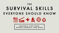 Survival skills everyone should know