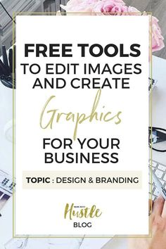 Content Marketing - Free tools to edit images and create graphics for your business Graphic Design Tips, Freelance Graphic Design, Business Tips, Online Business, Online Marketing, Content Marketing, Business Marketing, Affiliate Marketing, Online Entrepreneur