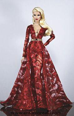 antonio realli Collection fashion dolls fashion royalty #FashionDolls