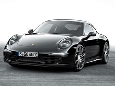 Porche 911 carrera Black edition