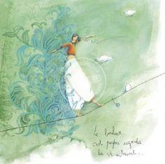 """Carte Anne-Sophie Rutsaert """"Le bonheur c'est parfois regarder la vie autrement"""""""
