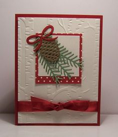 SC620 Pretty Pine by snowmanqueen - Cards and Paper Crafts at Splitcoaststampers