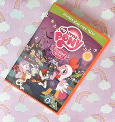 My Little Pony Spooktacular Pony Tales DVD Review  http://onedad3girls.com/blog//my-little-pony-spooktacular-pony-tales-dvd-review