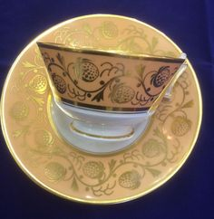 #Worcester Flight, Barr & Barr Cup & Saucer c1813 #FreeShipping to the #UK #Australia #USA #Canada & #Japan
