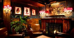 The 7 Coziest Places to Sip a Cocktail in NYC This Winter via @PureWow