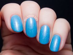 Girly Bits Arctic Sunrise via @chalkboardnails