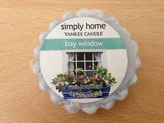 Bay Window Simply Home, Small Candles, Wax Tarts, Candle Wax, Bay Window, My Favorite Things