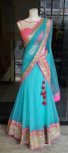 Types of Lehengas Lehenga Saree Design, Half Saree Lehenga, Indian Lehenga, Lehenga Designs, Saree Dress, Saree Blouse Designs, Anarkali, Sari, Lehenga Gown
