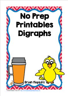 These beginning and ending digraphs for ch, sh, th, wh, ph, and ck no prep printables are perfect for small groups, independent practice, at a center, or guided instruction. They also work as an assessment. Students color the pictures that start with the beginning or ending digraph (ph could be in the middle of the word).